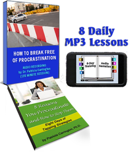 How to Break Free of Procrastination 8-Day Training Audios & eBook by Pat Carrington
