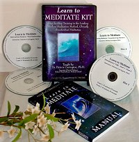 Learn to Meditate Kit, by Patricia Carrington Ph.D.