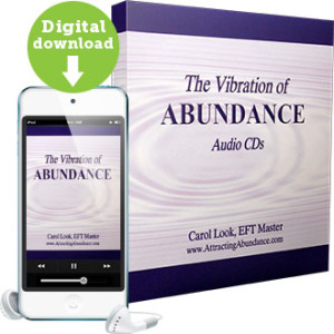 The Vibration of Abundance Audio CDs by Carol Look