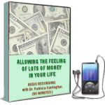 Allowing the Feeling of Lots of Money in Your Life EFT Training Session