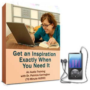 Get an Inspiration Exactly When You Need It Audio