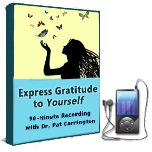 Learn how to Express Healing Gratitude to Yourself with EFT