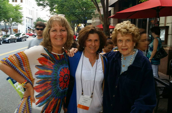 Dr. Patricia Carrington, Dr. Terry Lynch, and Judy Vartelas at ACEP Conference, Virginia 2015