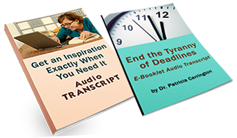 Get an Inspiration Audio Transcripts