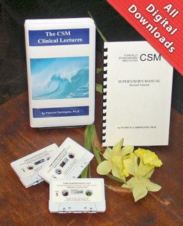 Clinically Standardized Meditation Supervisor's Kit by Dr. Patricia Carrington