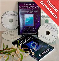 Learn to Meditate Kit, by Dr. Patricia Carrington