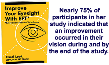 improve your eyesight with EFT book by Carol Look