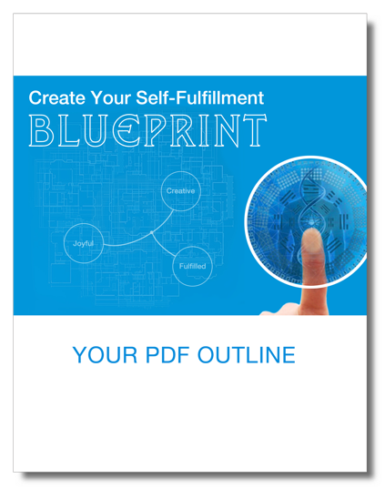 Create Your Self-Fulfillment Blueprint PDF Cover