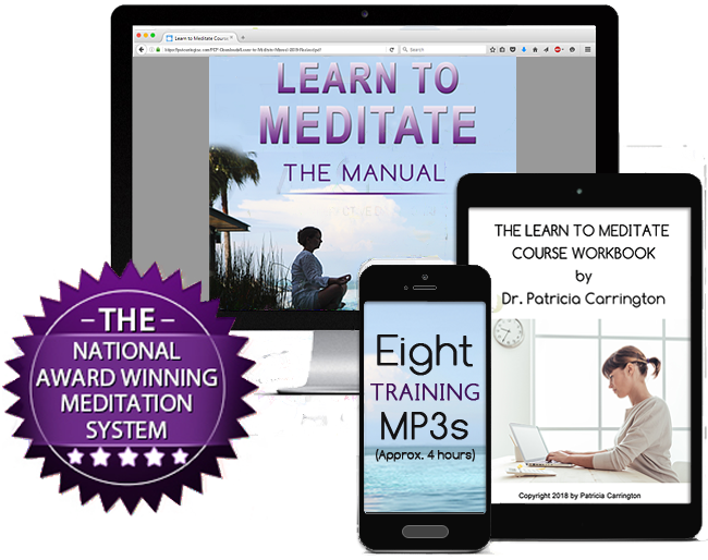 Learn to Meditate Course by Patricia Carrington Ph.D.