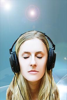 Listening to meditation MP3s